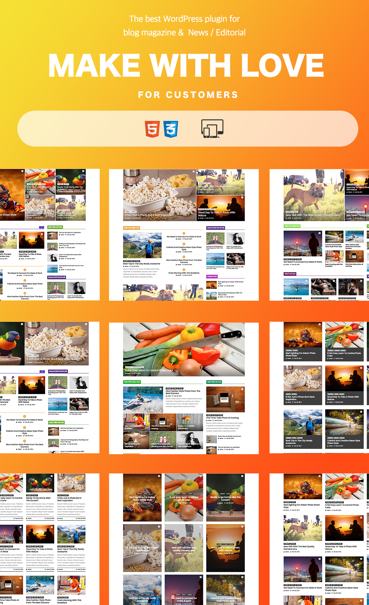 Ultimate Post Layout Builder - 1
