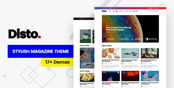 NanoMag - Responsive WordPress Magazine Theme - 1