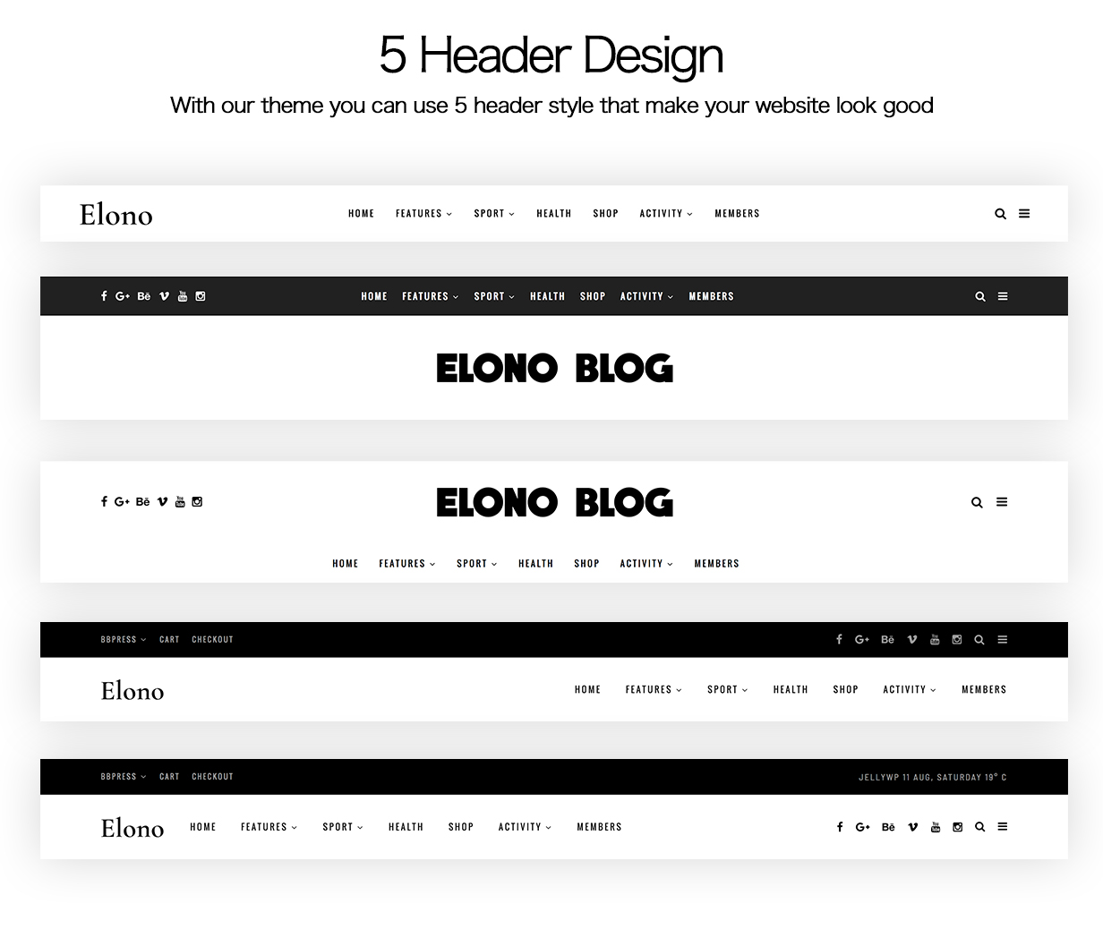 Elono - WordPress Blog Magazine Theme - 4