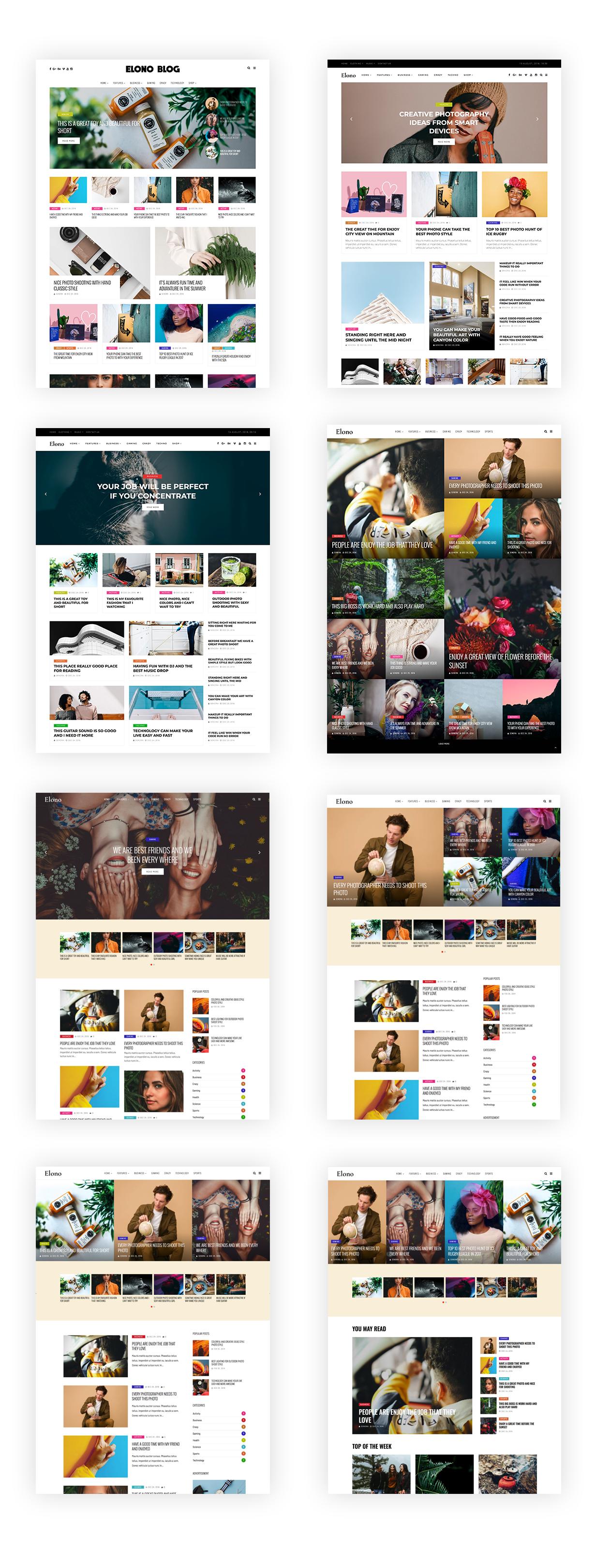 Elono - WordPress Blog Magazine Theme - 3