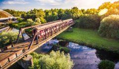 old-train-crossing-the-old-steel-bridge-picjumbo-com