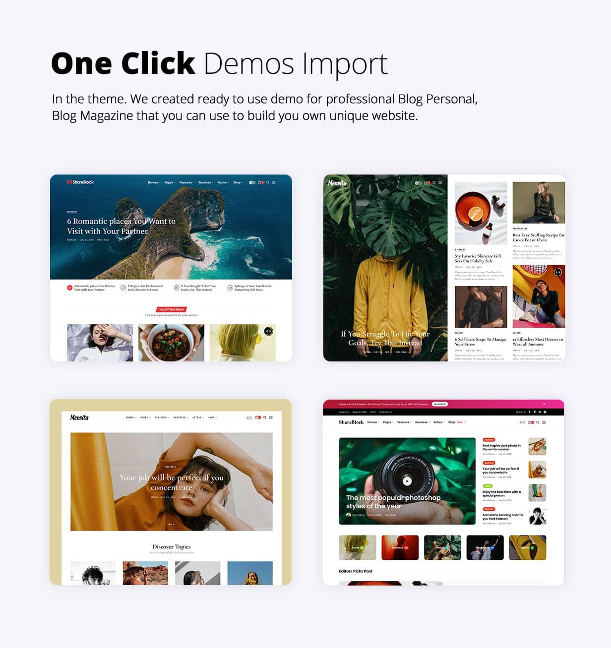 ShareBlock - Magazine & Blog WordPress Theme - 2